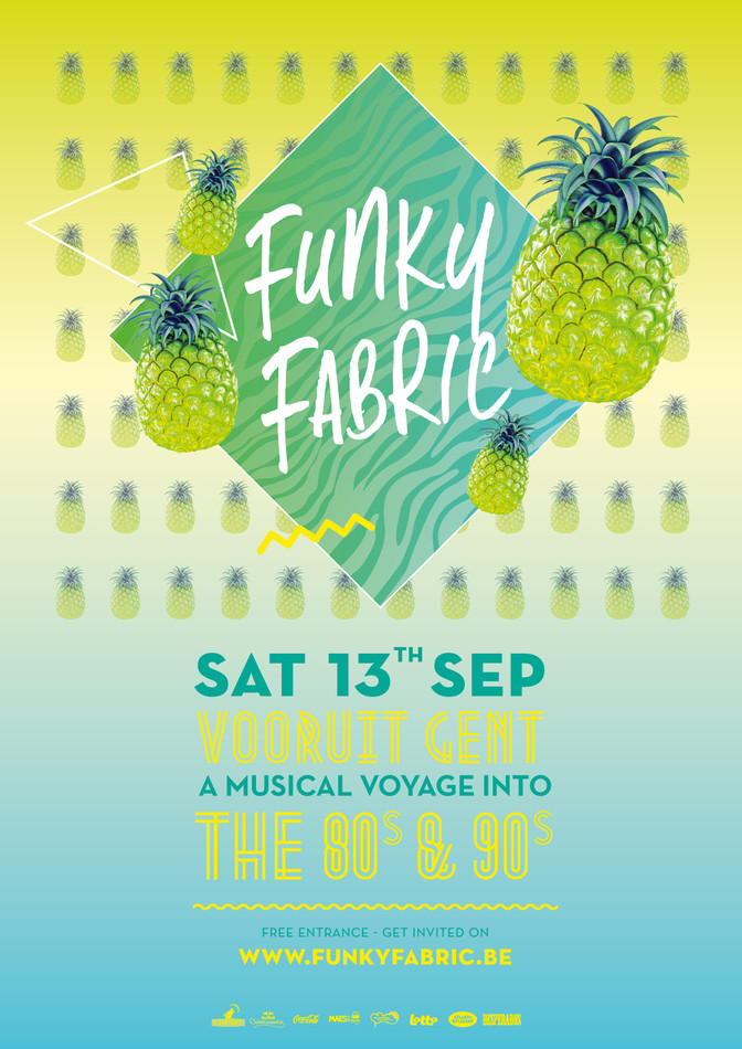 Funky Fabric - Sat 13-09-14, Kunstencentrum Vooruit