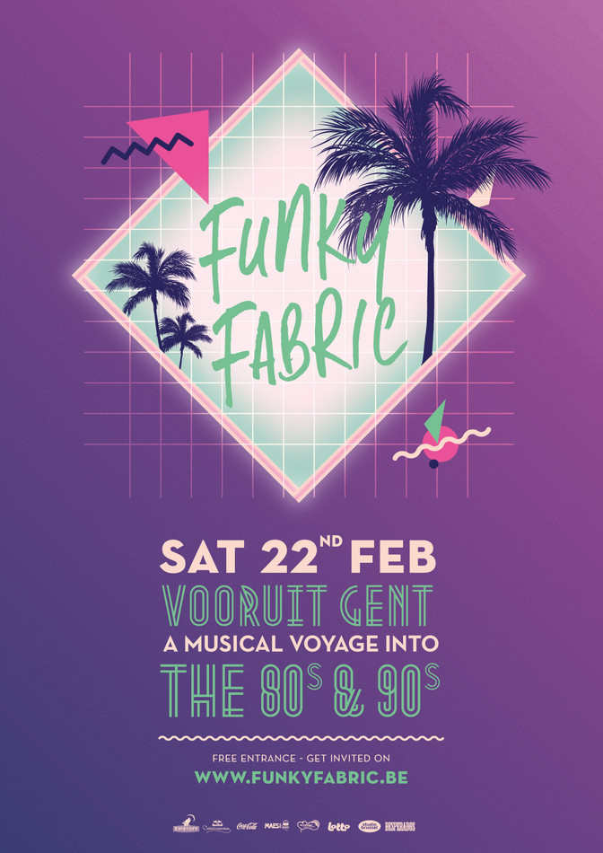 Funky Fabric - Sat 22-02-14, Kunstencentrum Vooruit