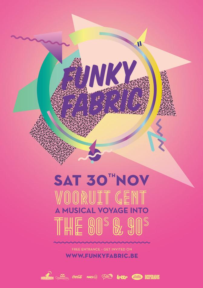 Funky Fabric - Sat 30-11-13, Kunstencentrum Vooruit