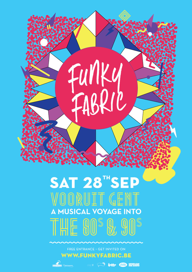Funky Fabric - Sat 28-09-13, Kunstencentrum Vooruit
