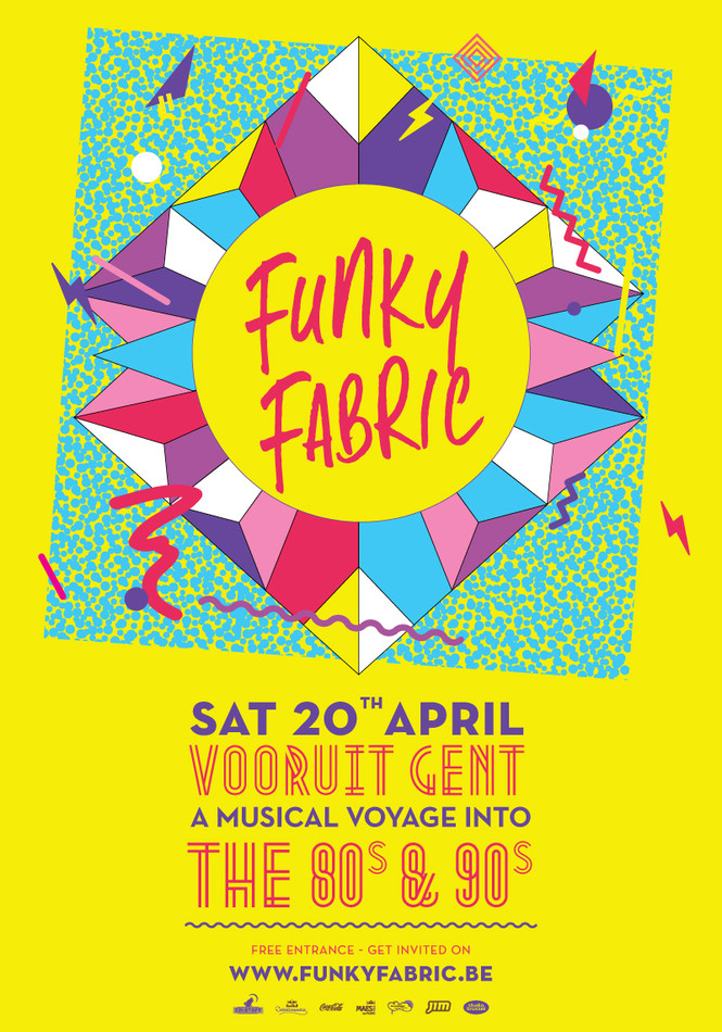 Funky Fabric - Sat 20-04-13, Kunstencentrum Vooruit