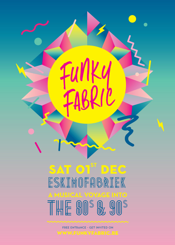 Funky Fabric - Sat 01-12-12, Kunstencentrum Vooruit