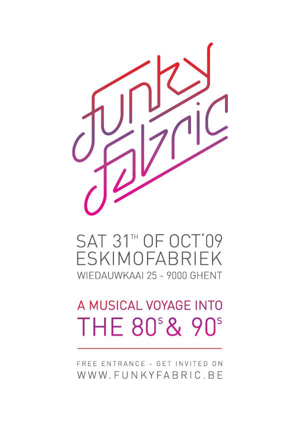 Funky Fabric 6 - Sat 31-10-09, Eskimofabriek