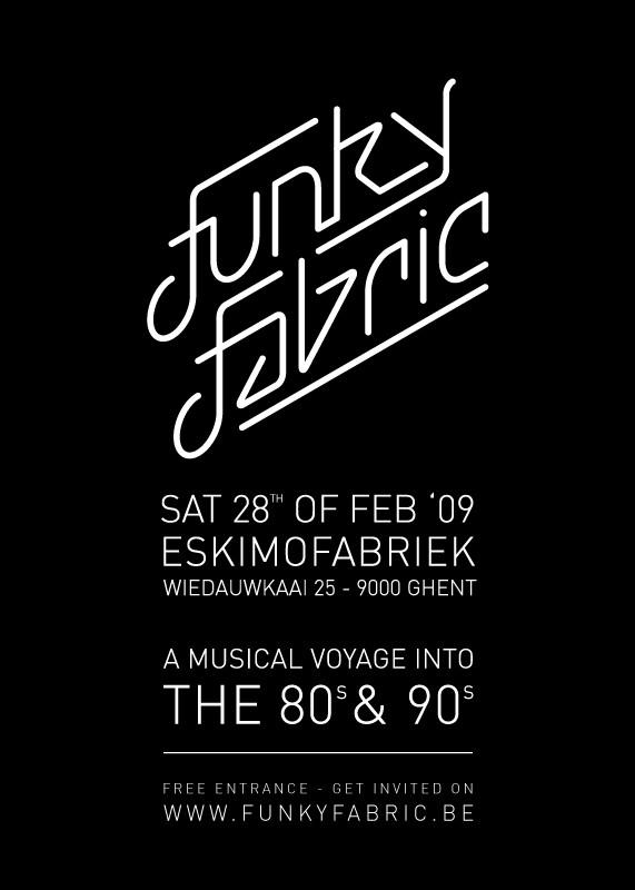 Funky Fabric 4 - Sat 28-02-09, Eskimofabriek