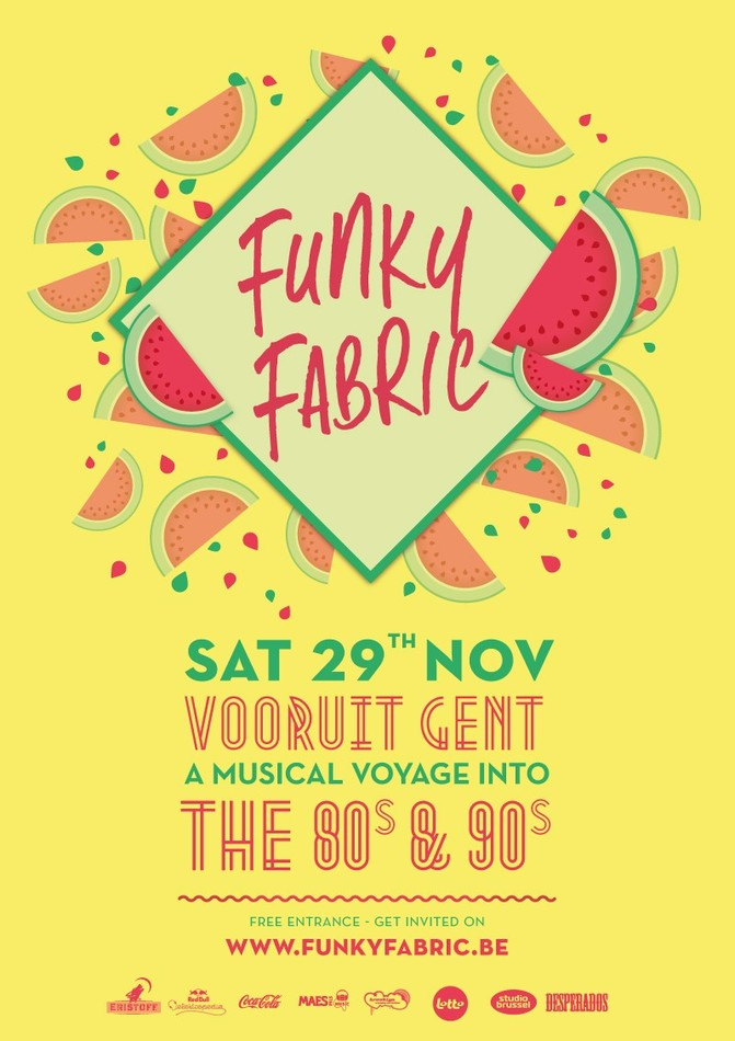 Funky Fabric - Sat 29-11-14, Kunstencentrum Vooruit
