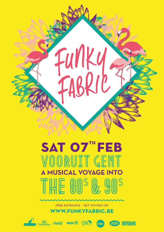 Funky Fabric - Sat 07-02-15, Kunstencentrum Vooruit