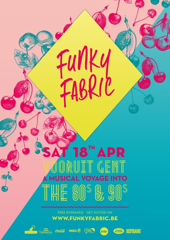 Funky Fabric - Sat 18-04-15, Kunstencentrum Vooruit