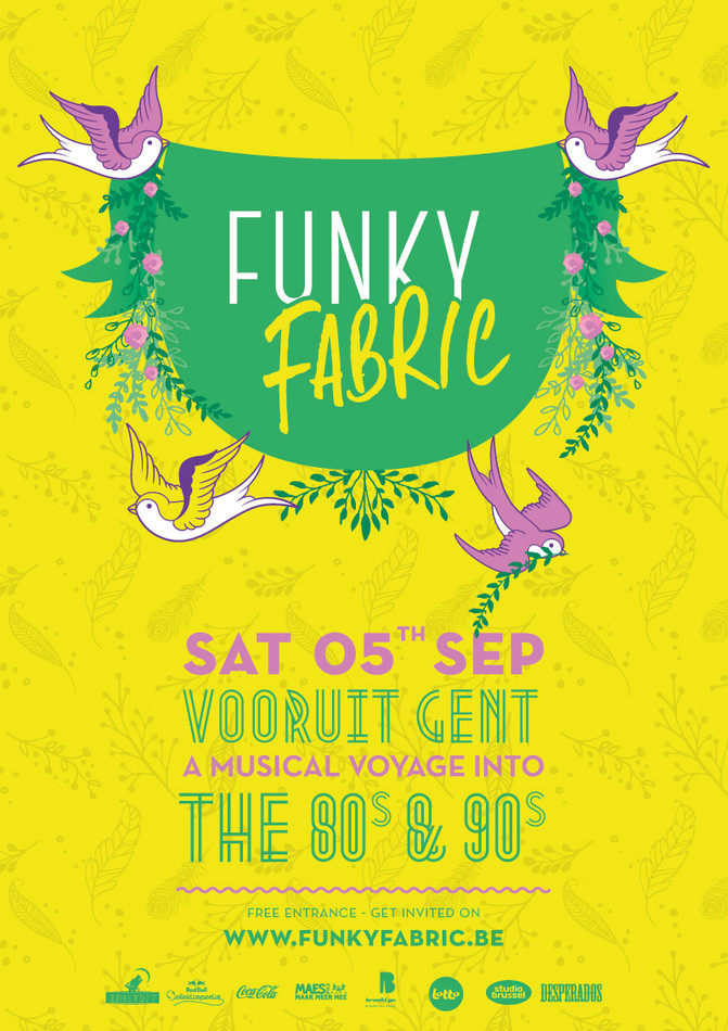 Funky Fabric - Sat 05-09-15, Kunstencentrum Vooruit