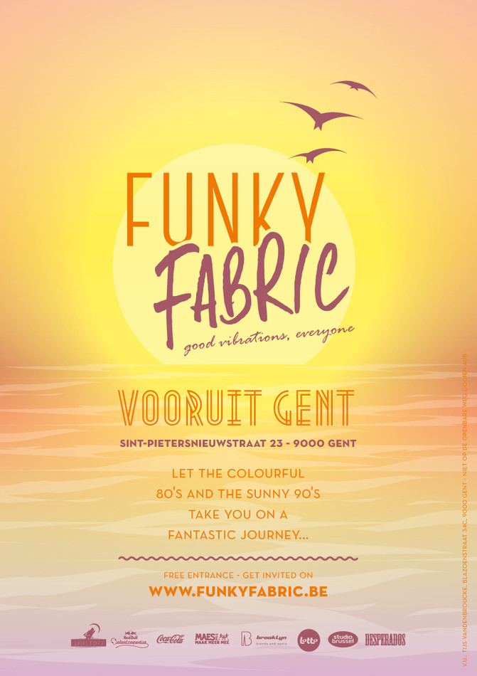 Funky Fabric - Sat 28-11-15, Kunstencentrum Vooruit