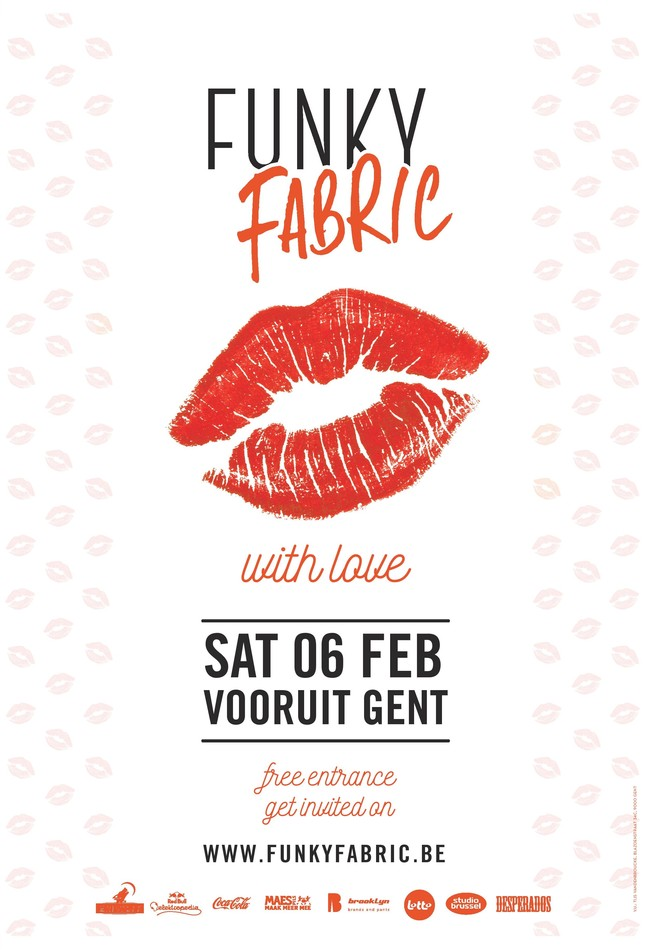 Funky Fabric - Sat 06-02-16, Kunstencentrum Vooruit