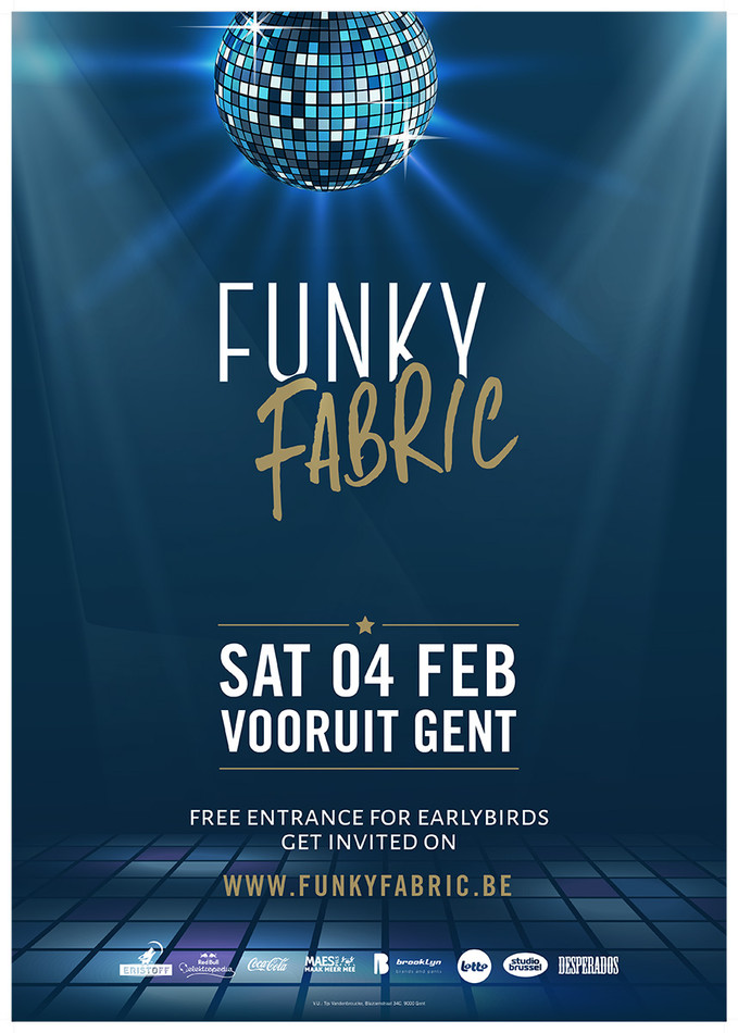 Funky Fabric  - Sat 04-02-17, Kunstencentrum Vooruit