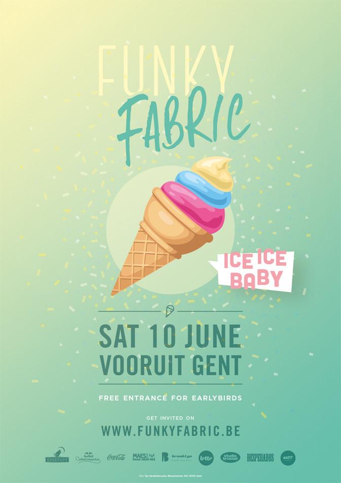 Funky Fabric - Ice Ice Baby - Sat 10-06-17, Kunstencentrum Vooruit