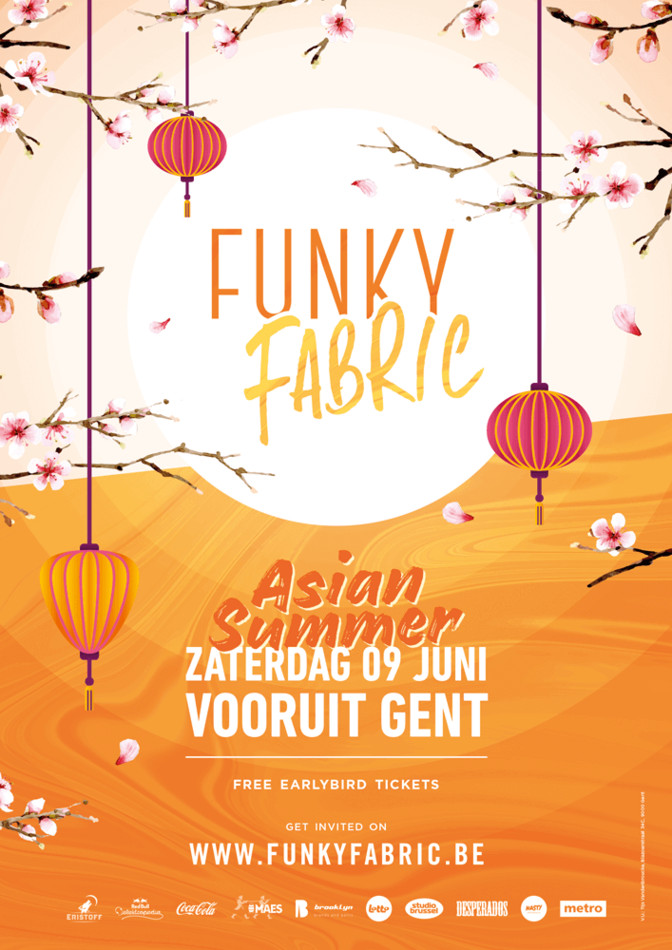 Funky Fabric - Asian Summer - Sat 09-06-18, Kunstencentrum Vooruit