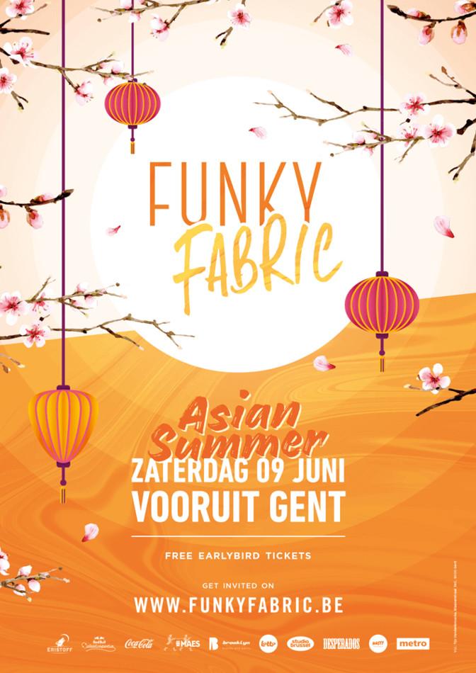 Funky Fabric - Asian Summer - Sat 09-06-18, Kunstencentrum Vooruit