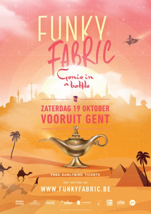 Funky Fabric - Genie in a Bottle - Sat 19-10-19, Kunstencentrum Vooruit